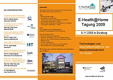 Picture from E-Health@Home Tagung 2009 Programm