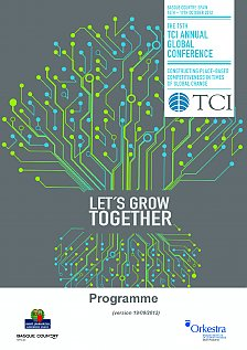 THE 15TH TCI ANNUAL GLOBAL CONFERENCE PROGRAMME