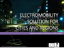 Picture from Project Presentation Electromobility Solutions for Cities and Regions