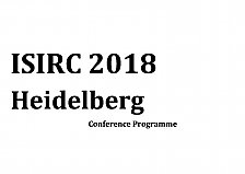 Picture from ISIRC 2018 Programm