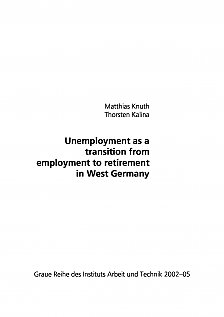 Picture from Unemployment as a transition from employment to retirement in West Germany