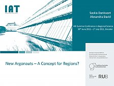 Abbildung Presentation New  Argonauts – A  Concept for Regions?