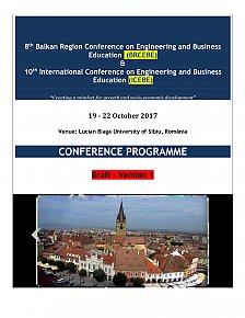 Abbildung Programm 8th Balkan Region Conferenz 19.-22.10.2017