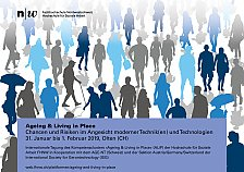 Abbildung Tagung Ageing & Living in Place_2019_Olten_CH